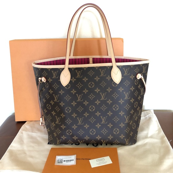 48304e40370f Louis Vuitton Handbags - Louis Vuitton MM Neverfull Monogram Tote Bag